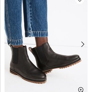 Madewell - The Ivy Chelsea Boot in Leather